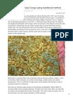 Batikdlidir.com-Batik Fabric Kinshasa Congo Using Traditional Method