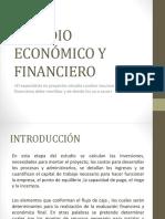 Estudio Económico y Financiero