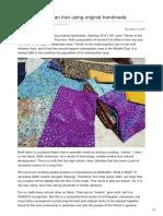 Batikdlidir.com-Batik Fabric Tehran Iran Using Original Handmade