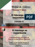 2_El Liderazgo Es Mayordomía