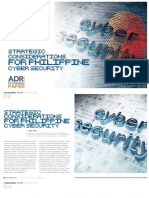 Strategic Considerations for Philippine Cyber Security