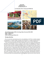 Course on Kurdistan and Contemporary Middle East