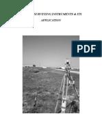 Modern Surveying Instruments