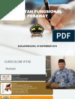 Materi 1 - Jabatan Fungsional Perawat