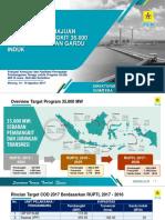 Pencapaian Kemajuan Proyek Pembangkit 35.000 MW, Transmisi Dan GI_ESDM