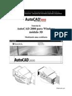 Autocad 2000 3D Modelando Uma Casa