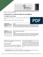 Lozano-Sánchez - 2012 - Presentación en cartel de trabajos de investigació