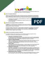 Aflatoun Programme Note Spanish