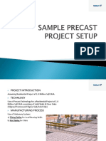 Sample Precast Project Setup
