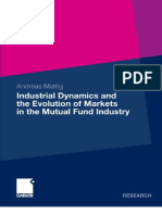 Andreas Mattig-Industrial Dynamics and the Evolution of Markets in the Mutual Fund Industry-Gabler (2009)