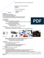 Lesson Plan for Ways of Recyling Using Multiintellegence Approach in Science 5