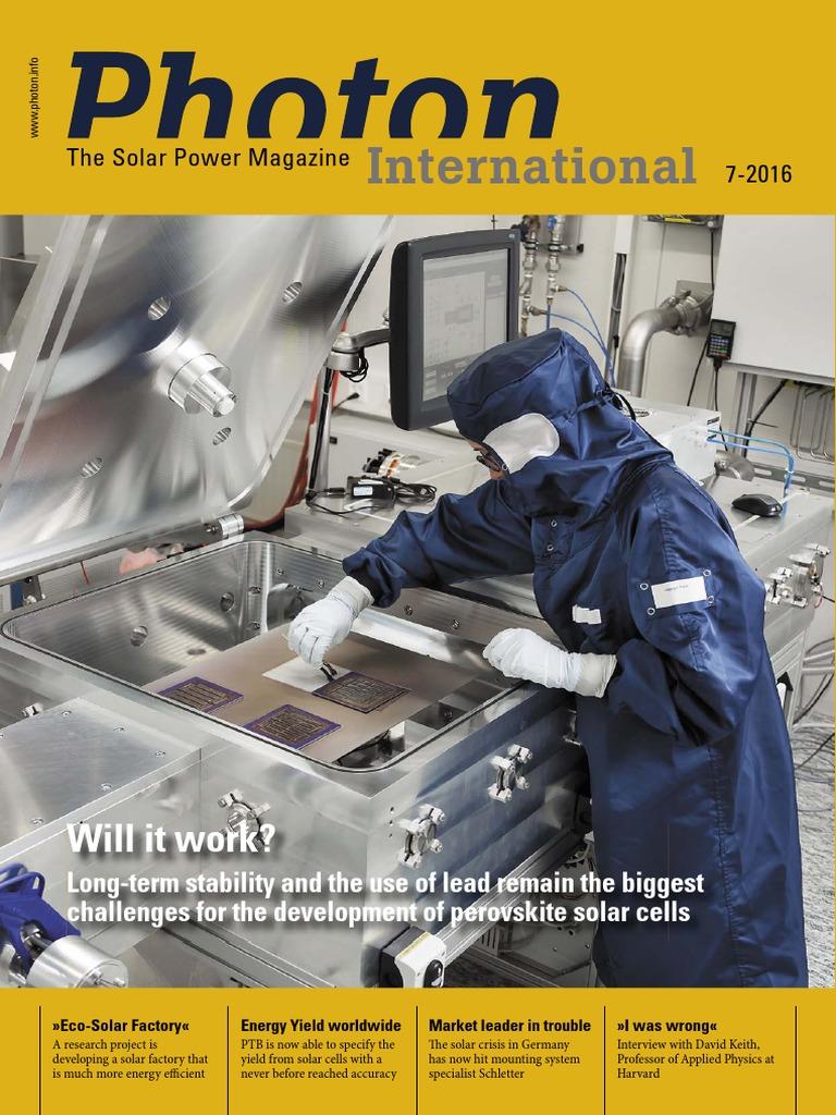 Photon International 2016 07 Will It Work Photovoltaics Solar Power Mppt Regulators Maximum Point Tracking Mr Watt Srl