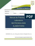 Biotecnología Alimentaria-manual de Prácticas-2017