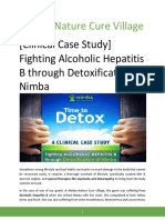 [Clinical Case Study] Fighting Alcoholic Hepatitis B through Detoxification at Nimba