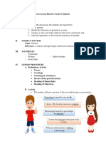 Lesson Plan for Gerunds