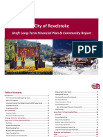 2018 City of Revelstoke Draft L ong - Term Financial Plan & Community Report
