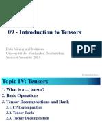 09 Tensors1 Handout