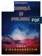 Cenusa Si Pulbere - Yrsa Sigurdardottir