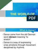 3rd Dance Topic