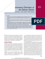 Inflammatory Disorders of the Salivary Glands
