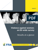 Fra 2014 Vaw Survey at a Glance Oct14 En