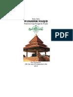 Buku Pedoman Muharrik Masjid