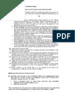 Checklist on Small Value Procurement