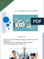 ethics of media management
