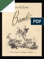 Bambi Sketchbook