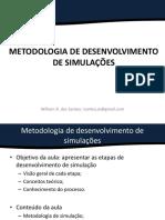 Processo de desenvolvimento de simulação