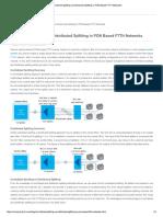 Centralized Splitting vs Distributed Splitting in PON Based FTTH Networks