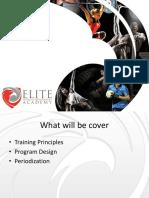 Unit 7 - Program Design and Periodization (1)