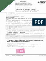 Certificat de Atestare Fiscala