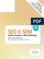 SEO E SEM Guida Avanzata Al Web Marketing - Marco Maltraversi