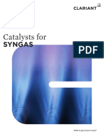 Syngas Catalyst