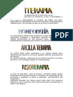 Esencias Homeopatia Arcilla Risa