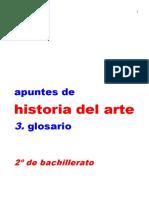 3 Glosario Historia Del Arte