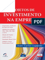 Projetos de Investimento Na Empresa  - Juan Laponni