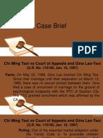Case Brief Chi Ming Choi