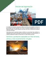 Definición de Exportación.docx
