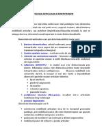 Raportul Dintre Patologia Articulara Si Kinetoterapie