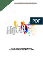 Louvor Volume 3 Letras
