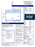 Word 2007 Quick Reference