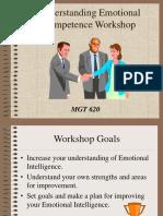 Understanding Emotional Competence Workshop