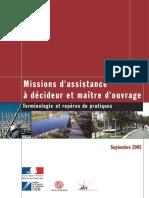 2005 09 01.Guide Assistance Amo Decideur Maitre Ouvrage