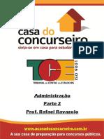 Apostila2-TCE-Administracao-Ravazolo - Apostila Casa Do Concurseiro