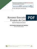 Pos-mdl-01 - Resumo Executivo Do Projeto