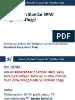 Penyusunan Dokumen Standar SPMI oleh bu Jenny