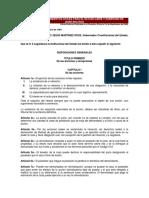 Codigo de Procedimientos Civiles Para El Estado Libre y Soberano de Quintana Roo