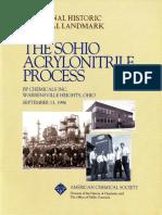 Thesohio Acrylonitrile Process